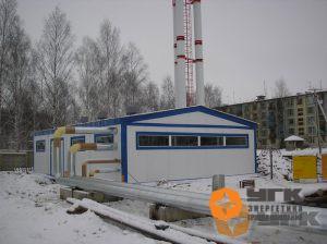 Блочно-модульная газовая котельная мощностью 2,0МВт