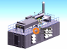 Фото в 3d газопоршневых электростанций